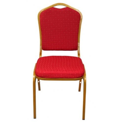 Банкетен Стол с Червена Тапицерия