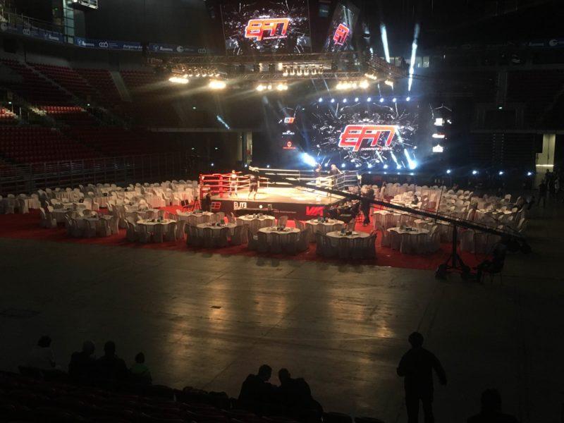 Организиране на ММА вечер в зала Арена Армеец за 320 госта